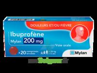 Ibuprofene Mylan 200 Mg, Comprimé Enrobé à TOUCY