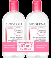 Crealine Ts H2o Solution Micellaire Sans Parfum Nettoyante Apaisante 2fl/500ml à TOUCY