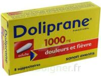 Doliprane 1000 Mg Suppositoires Adulte 2plq/4 (8) à TOUCY
