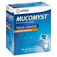 Mucomyst 200 Mg Poudre Pour Solution Buvable En Sachet B/18 à TOUCY