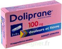 Doliprane 100 Mg Suppositoires Sécables 2plq/5 (10) à TOUCY