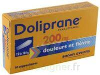 Doliprane 200 Mg Suppositoires 2plq/5 (10) à TOUCY