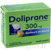Doliprane 300 Mg Poudre Pour Solution Buvable En Sachet-dose B/12 à TOUCY