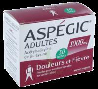 Aspegic Adultes 1000 Mg, Poudre Pour Solution Buvable En Sachet-dose 30 à TOUCY