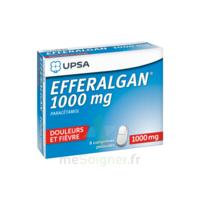 Efferalgan 1000 Mg Comprimés Pelliculés Plq/8 à TOUCY