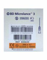 Bd Microlance 3, G25 5/8, 0,5 Mm X 16 Mm, Orange  à TOUCY