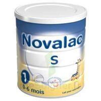 Novalac S 1 Lait En Poudre Satiétant 1er âge B/800g à TOUCY
