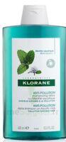 Klorane Menthe Aquatique Shampooing Détox 400ml à TOUCY