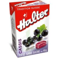 Halter Bonbon Sans Sucre Cassis 40g à TOUCY