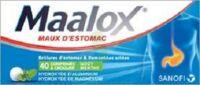 Maalox Hydroxyde D'aluminium/hydroxyde De Magnesium 400 Mg/400 Mg Cpr à Croquer Maux D'estomac Plq/40 à TOUCY