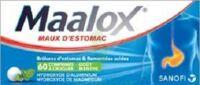 Maalox Hydroxyde D'aluminium/hydroxyde De Magnesium 400 Mg/400 Mg Cpr à Croquer Maux D'estomac Plq/60 à TOUCY
