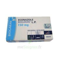 Econazole Biogaran L.p. 150 Mg, Ovule à Libération Prolongée à TOUCY