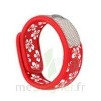 Bracelet Graffic J&t Hawai Rouge à TOUCY