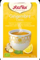 Yogi Tea Gingembre Citron à TOUCY
