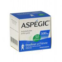 Aspegic 500 Mg, Poudre Pour Solution Buvable En Sachet-dose 30 à TOUCY