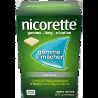 Nicorette 2 Mg Gom à Mâcher Médic Sans Sucre Menthe Fraîche Plq/105gom à TOUCY