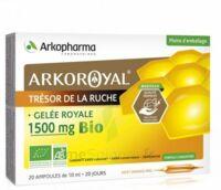 Arkoroyal Gelée Royale Bio 1500 Mg Solution Buvable 20 Ampoules/10ml à TOUCY