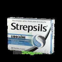 Strepsils Lidocaïne Pastilles Plq/24 à TOUCY