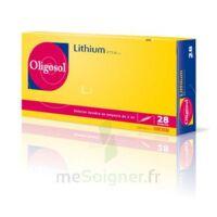 Oligosol Lithium Solution Buvable En Ampoule Ou En Récipient Unidose 28amp/2ml à TOUCY