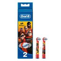 Oral B Incredibles 2 Brossette Kids Blister/2 à TOUCY