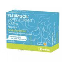 Fluimucil Expectorant Acetylcysteine 600 Mg Glé S Buv Adultes 10sach
