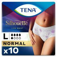 Tena Lady Silhouette Slip Absorbant Blanc Normal Large Paquet/10 à TOUCY