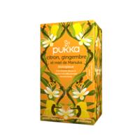 Pukka Bio Citron, Gingembre Et Miel De Manuka Tisane Immunité Citron Gingembre Miel De Manuka 20 Sachets à TOUCY